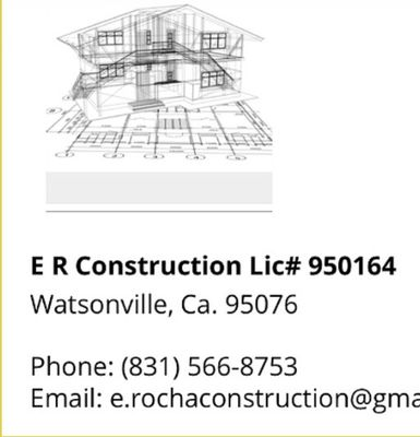 Avatar for ER CONSTRUCTION Watsonville, CA Thumbtack