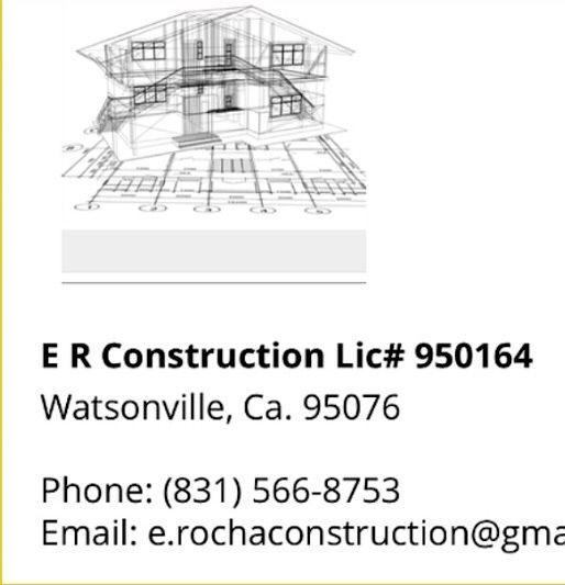 ER CONSTRUCTION INC.