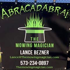 The Mowing Magician