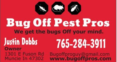 Avatar for Bug Off Pest Pros Muncie, IN Thumbtack