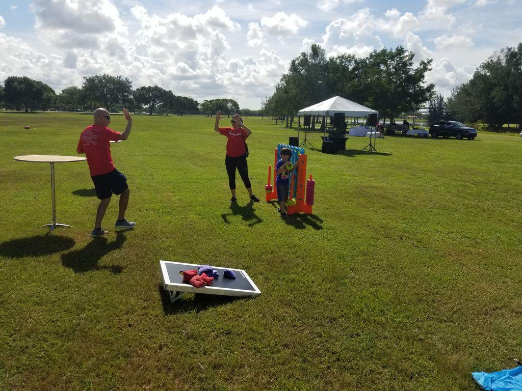 Corporate Kickball and picnic