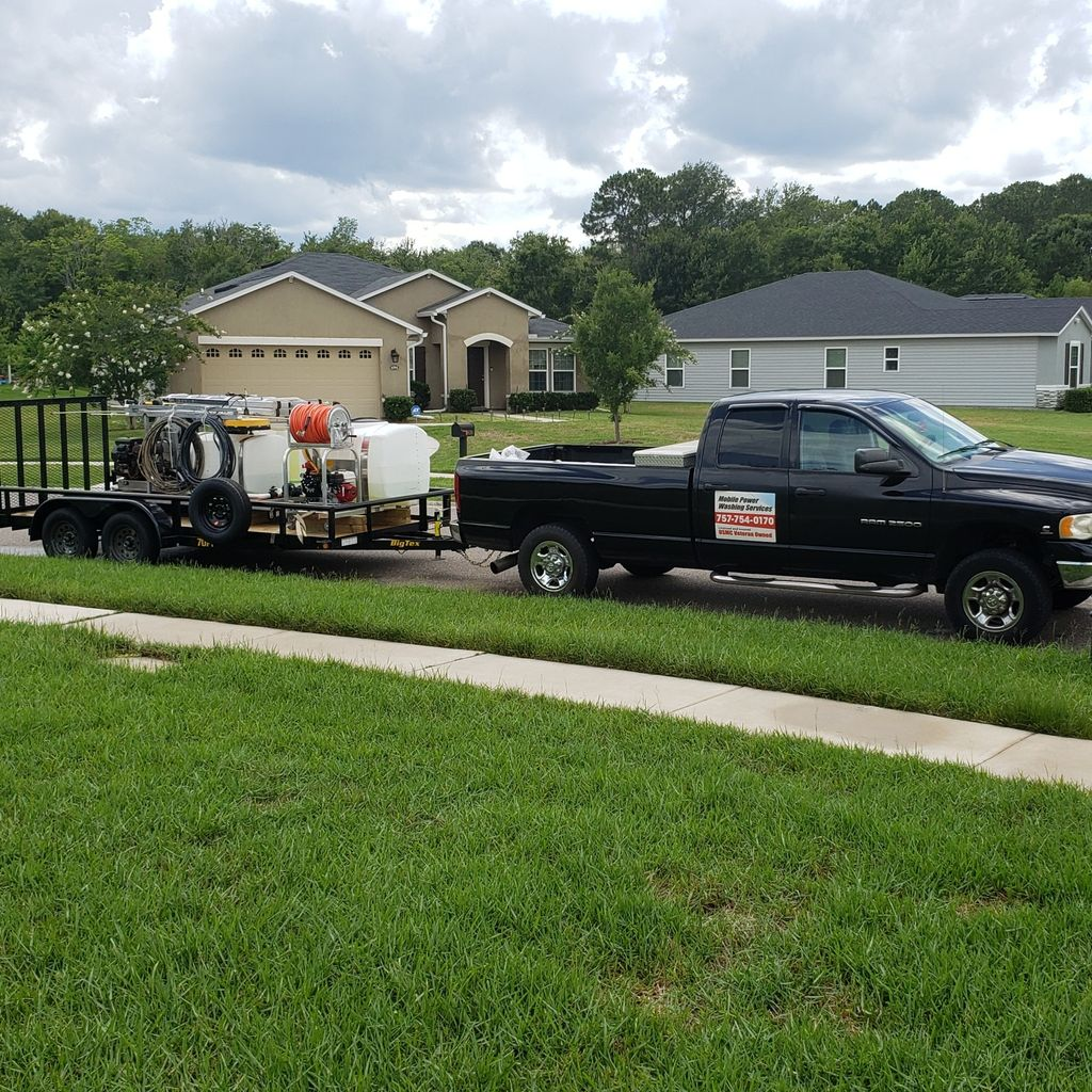 Mobile Power Washing Services