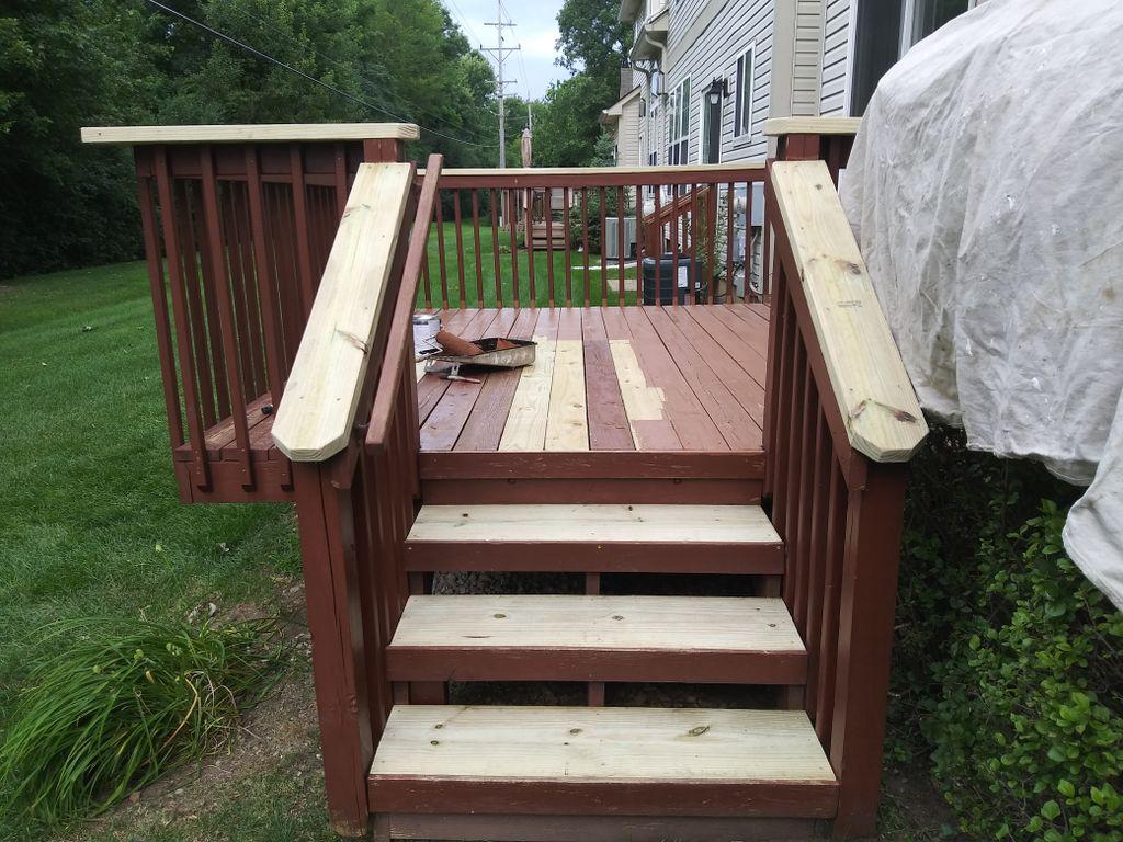 FarmingtonHills Deck Repair Stain and Seal