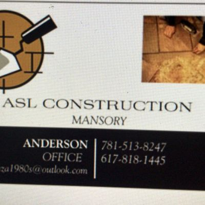 Avatar for ASL Construction Woburn, MA Thumbtack