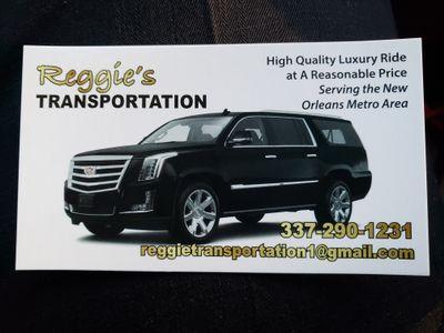 Avatar for Reggie's Transportation New Orleans, LA Thumbtack