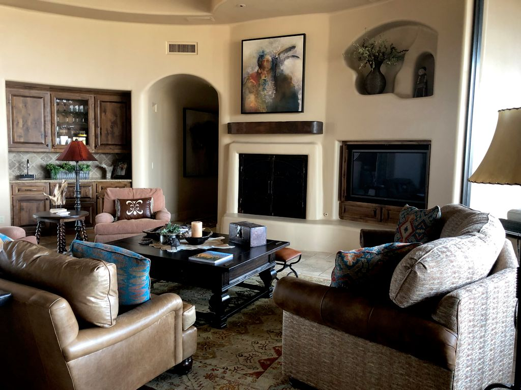 Southwestern Style New Home