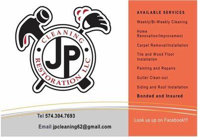 Avatar for Jp Cleaning & Restoration LLC Bristol, IN Thumbtack