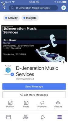 Avatar for D-Jeneration Music Services Waukesha, WI Thumbtack