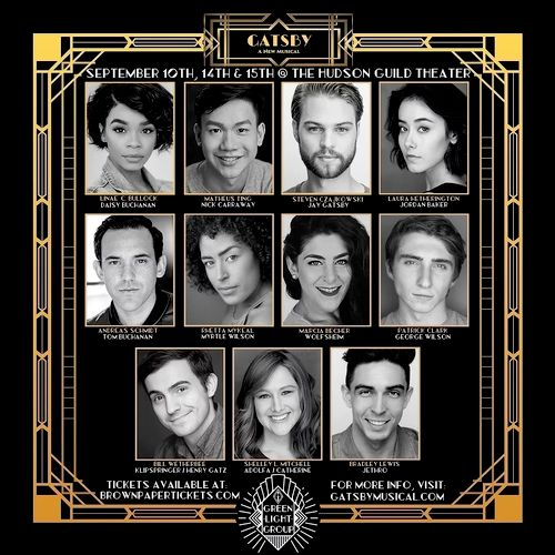 New York Theatre Festival: GATSBY - A New Musical