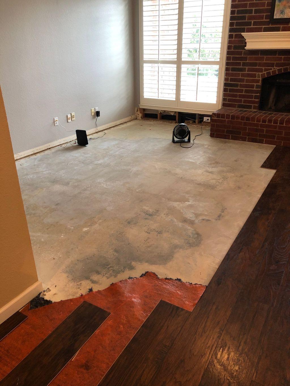 Drywall Repair and flooring - Lewisville 2019