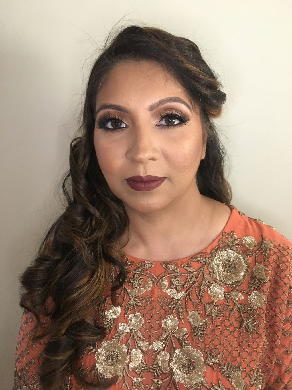 Wedding Guest Hair and Makeup
