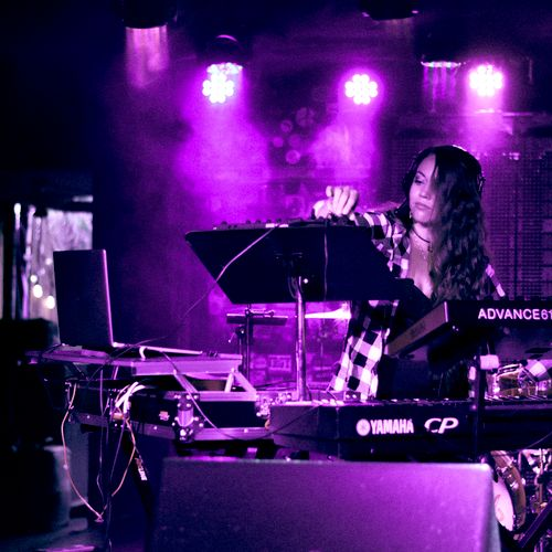 Performance at the Larimer Lounge