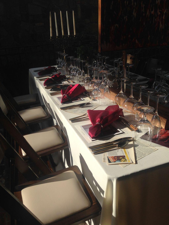 Elegant VIP reception
