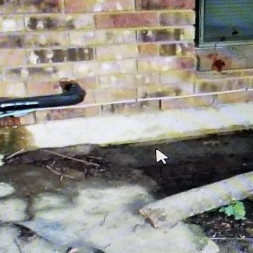 water leak under slab not condensate drain