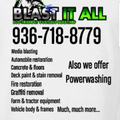 Avatar for Blast It All Huntsville, TX Thumbtack