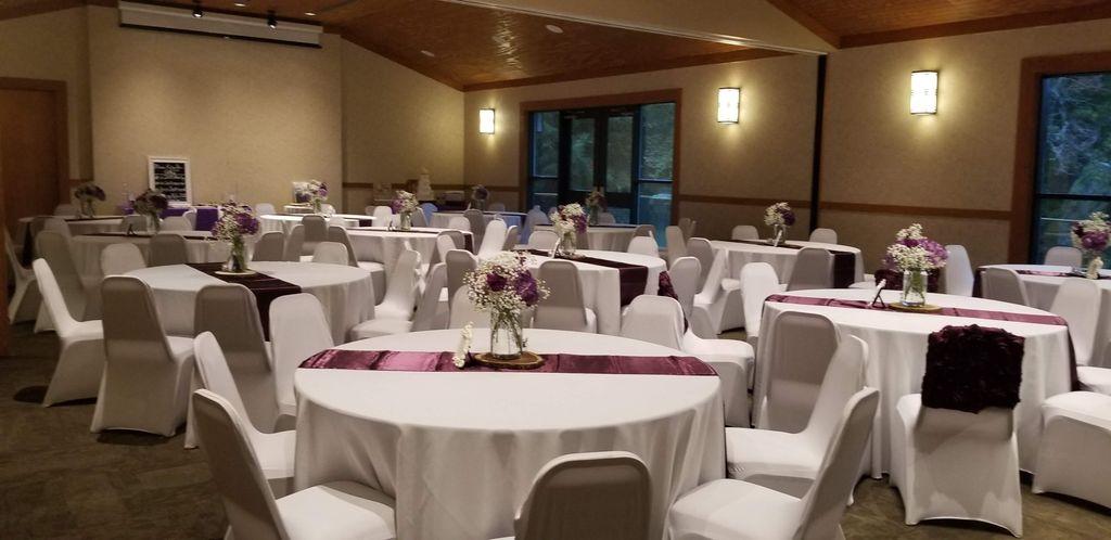 Nature's wedding