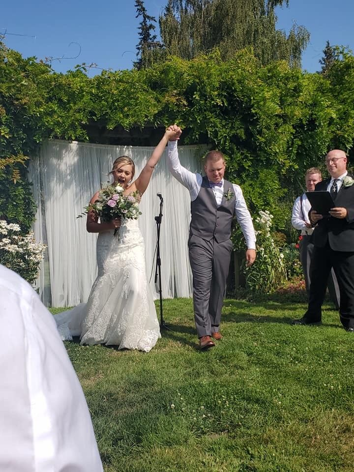 Wedding Officiant - Anacortes 2019