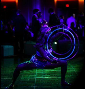 UV Black light Corporate party 2018