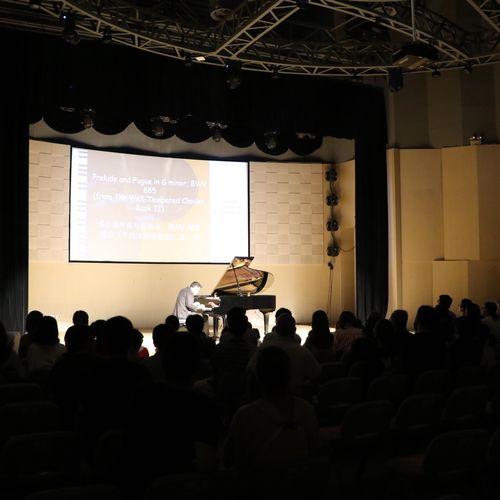 Solo recital in Shanghai
