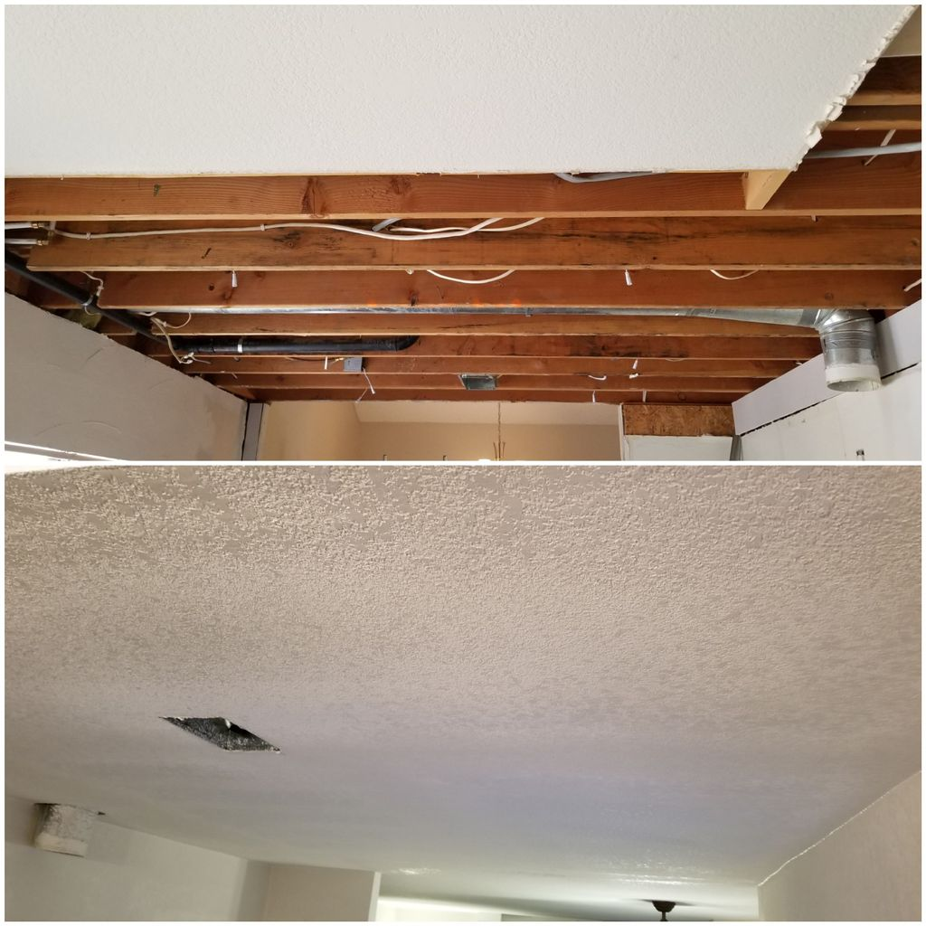 Drywall Kitchen Cieling