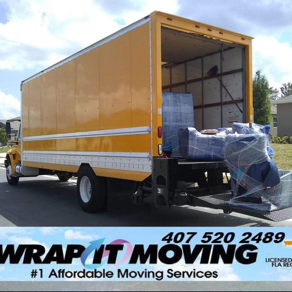WRAP IT MOVING & DELIVERY
