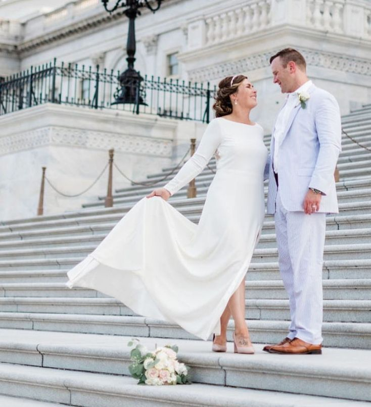 Ethereal wedding at the Capitol