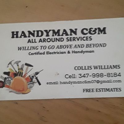 Avatar for Handyman C&M Saint Albans, NY Thumbtack