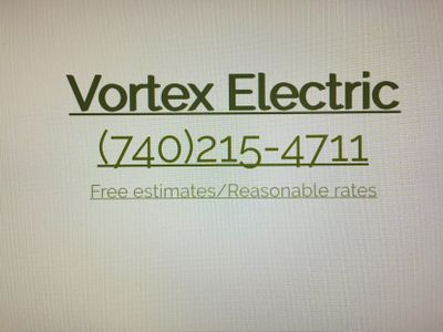 Avatar for Vortex Electric LLC Thornville, OH Thumbtack