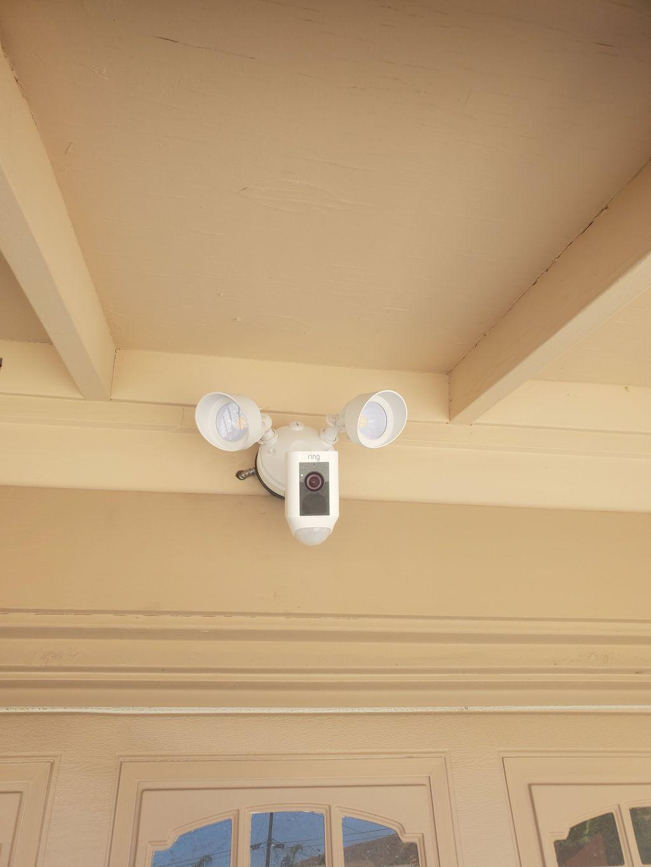 Ring flood light install