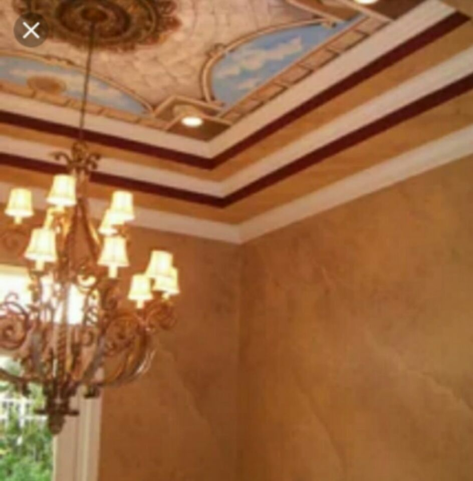 Quad Ceiling Faux