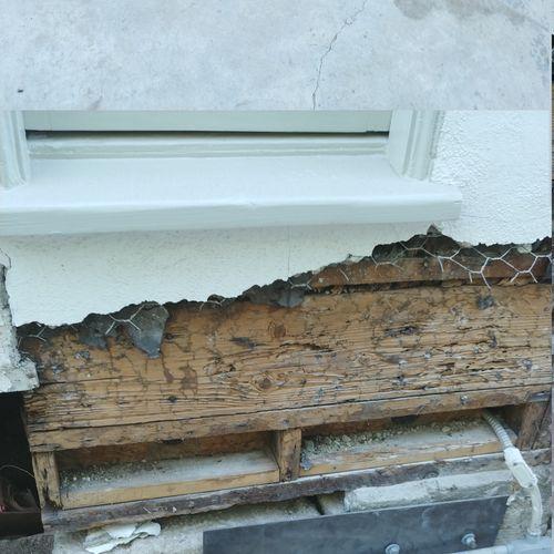 Damage from Subterranean termites