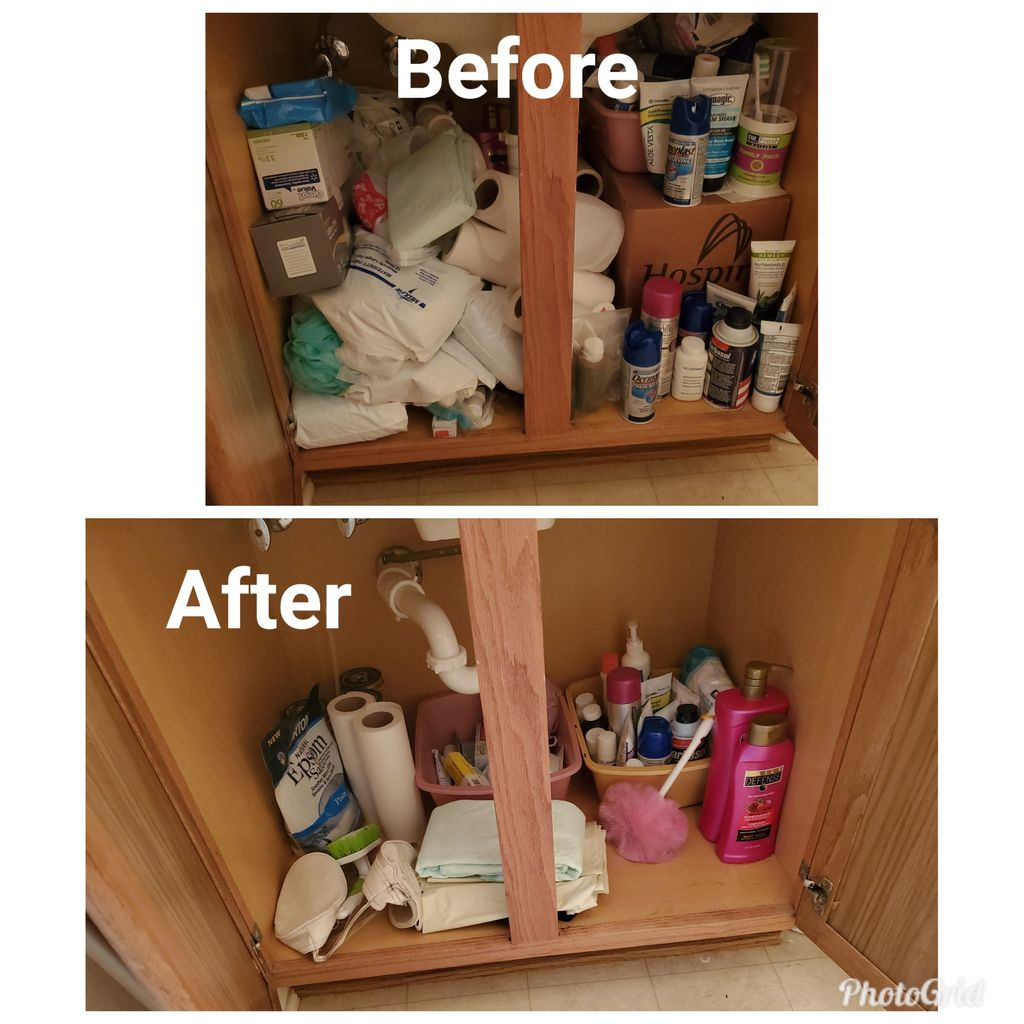Cleaning & Decluttering