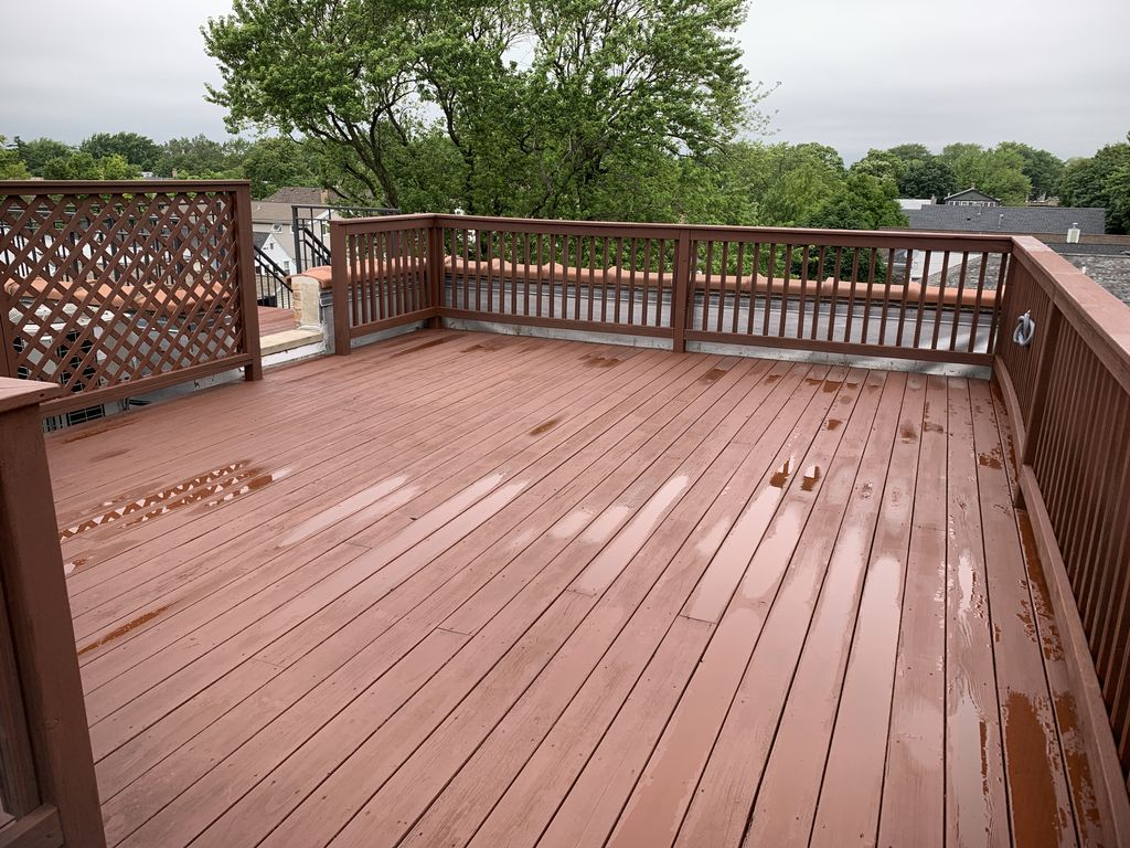 Rooftop Deck Refinishing