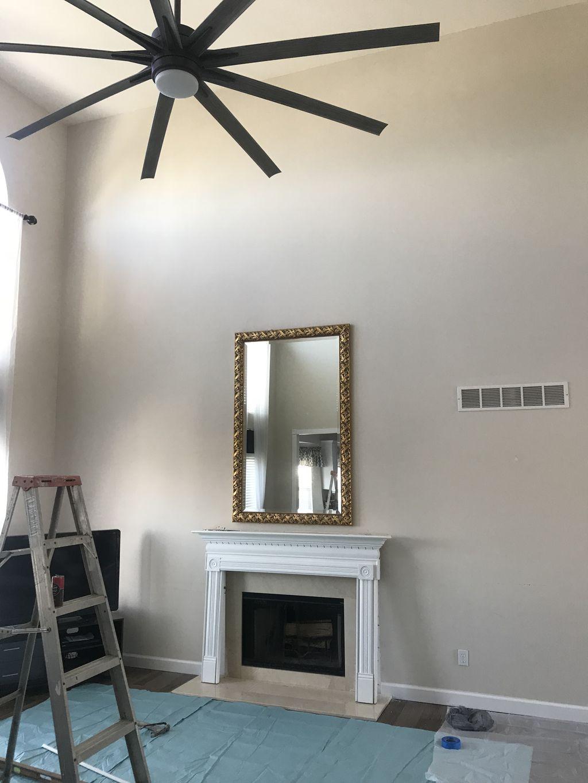 Fireplace transformation