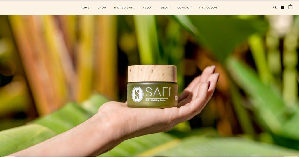 CBD Brand Website Marketing SEO