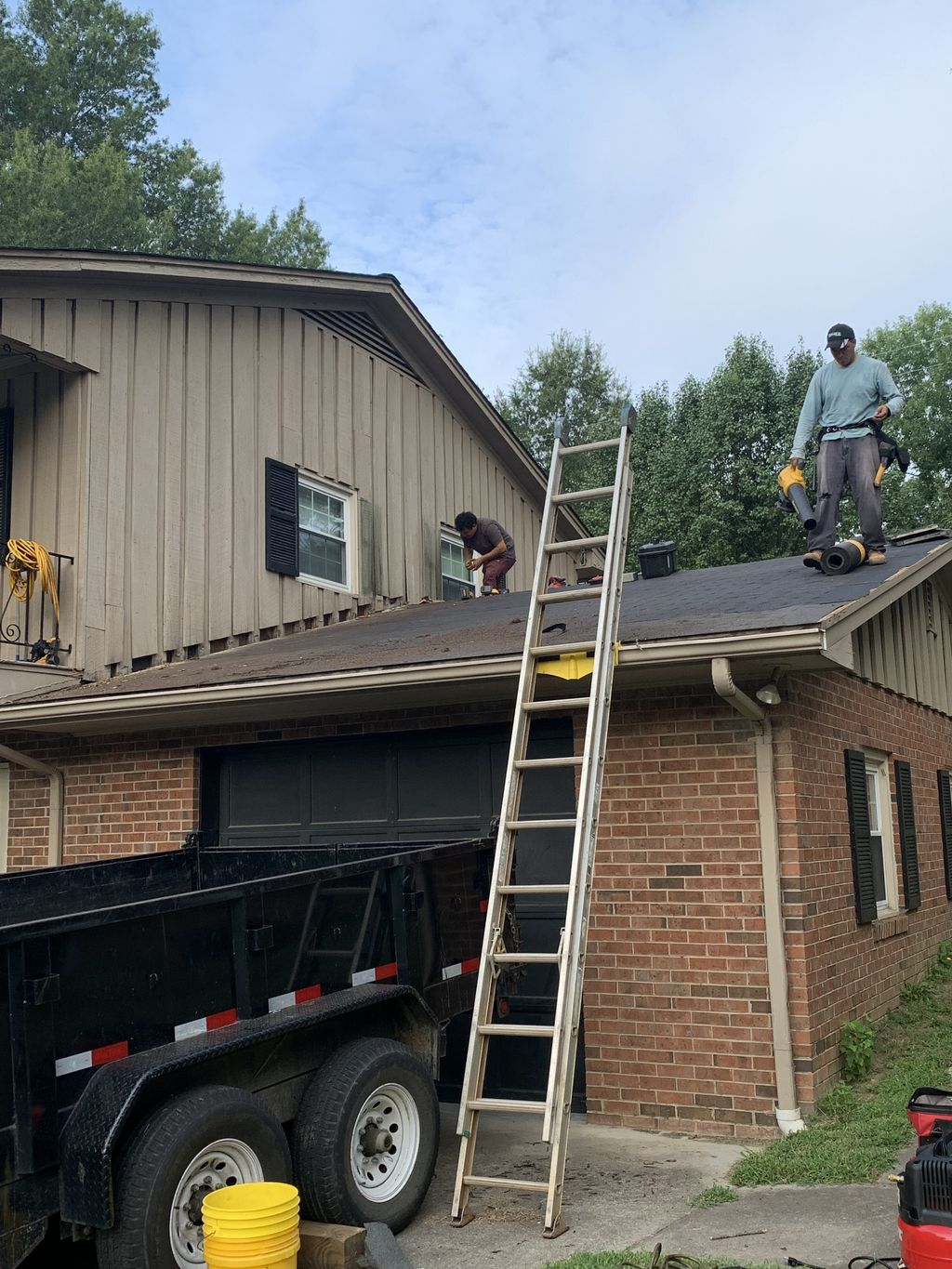 Siding And Roofing repair