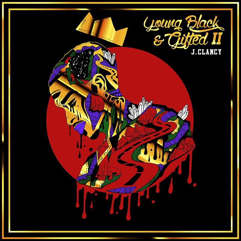 Young Black & Gifted II Album Cover - Front Design