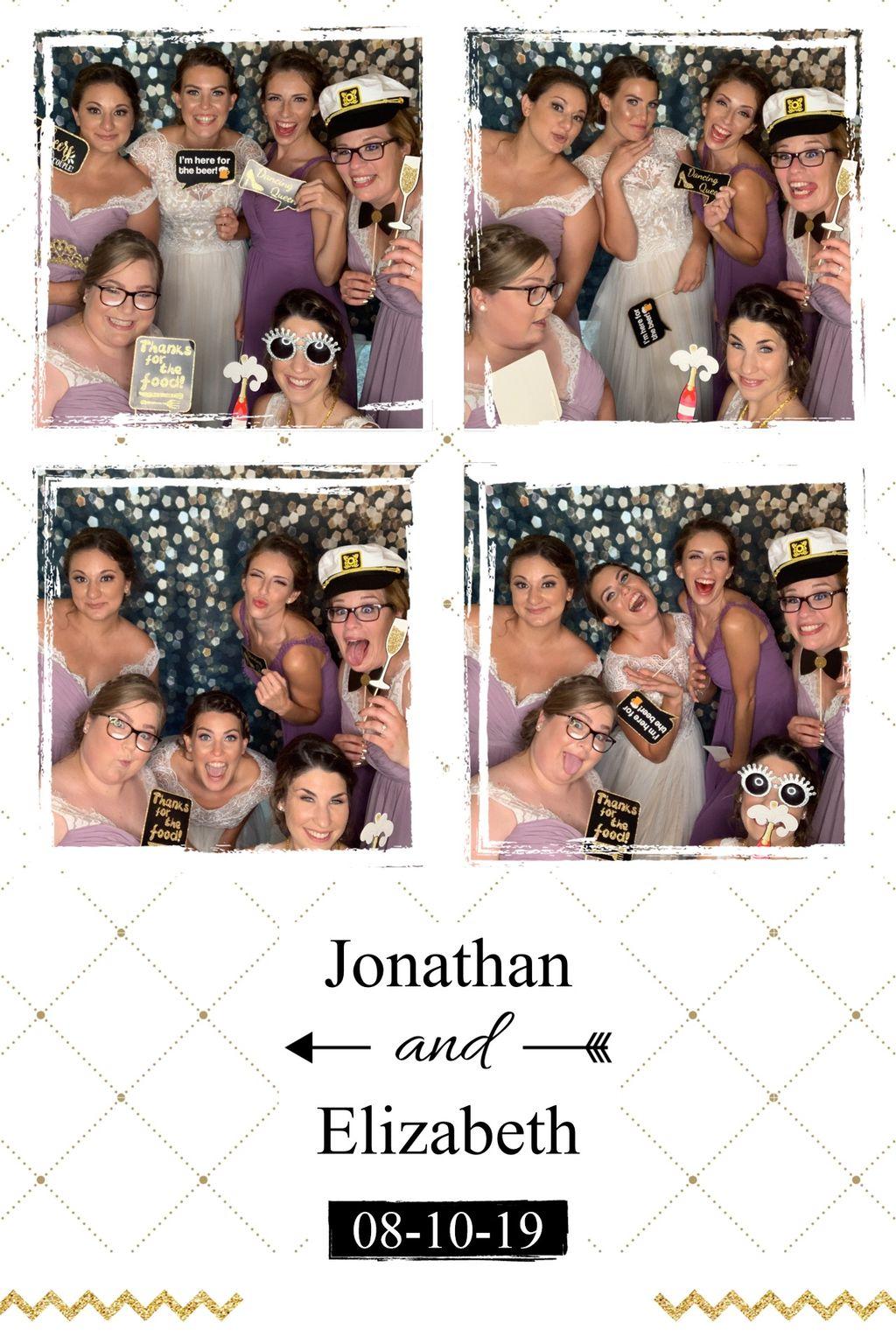 Outdoor Wedding Photobooth