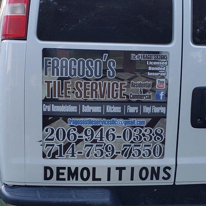 Fragosos tile services llc