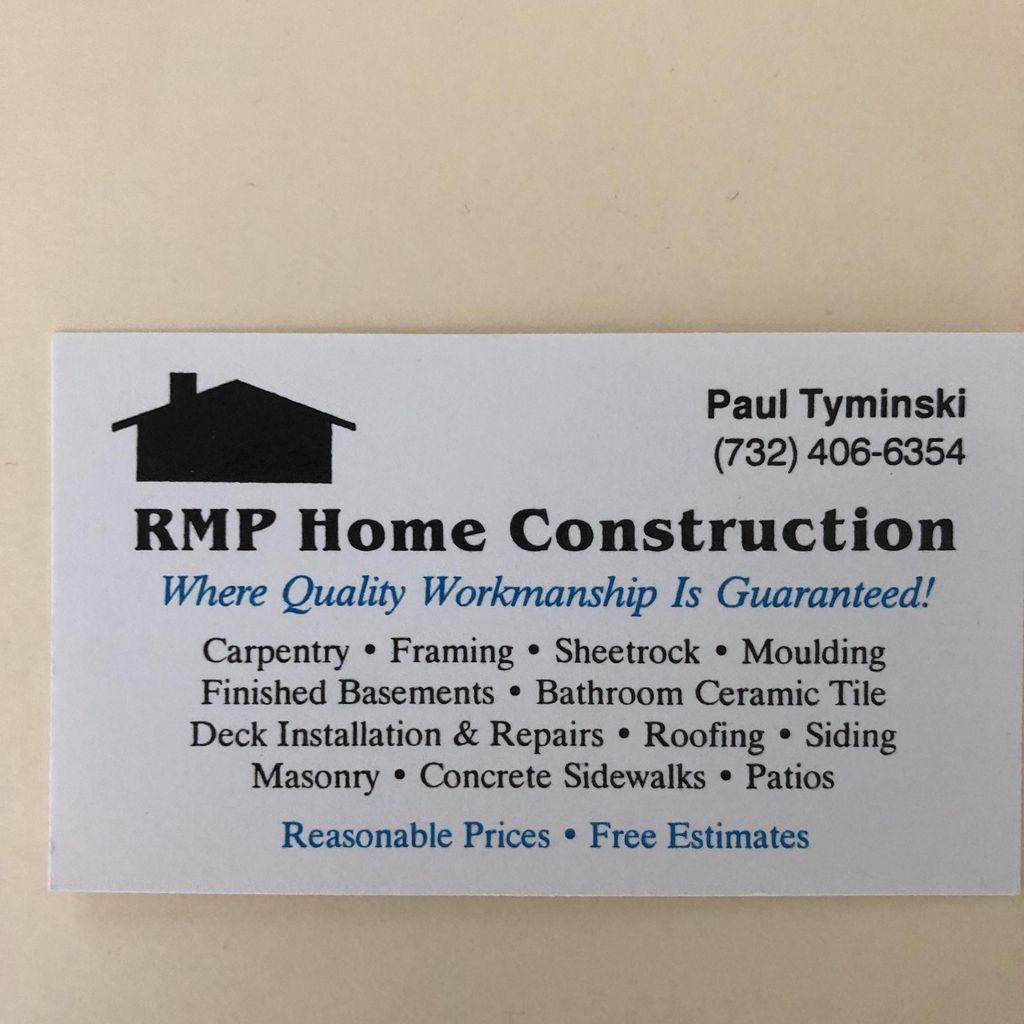 Rmp home construction llc
