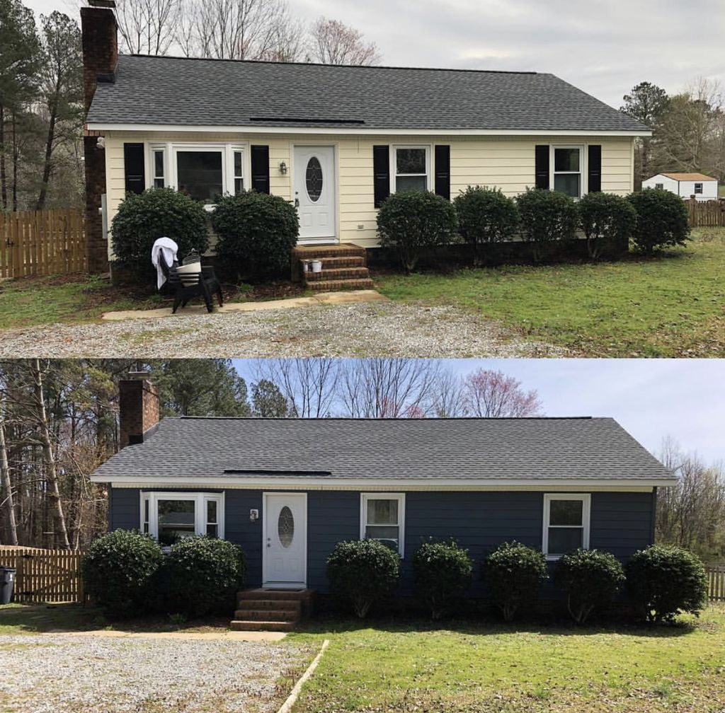 Exterior Before & After