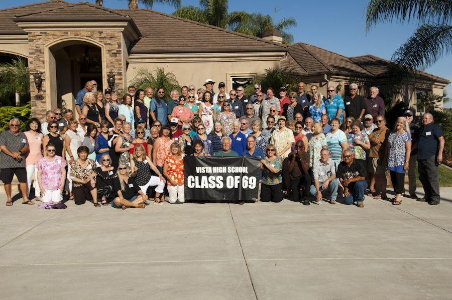 Vista High 50th class reunion
