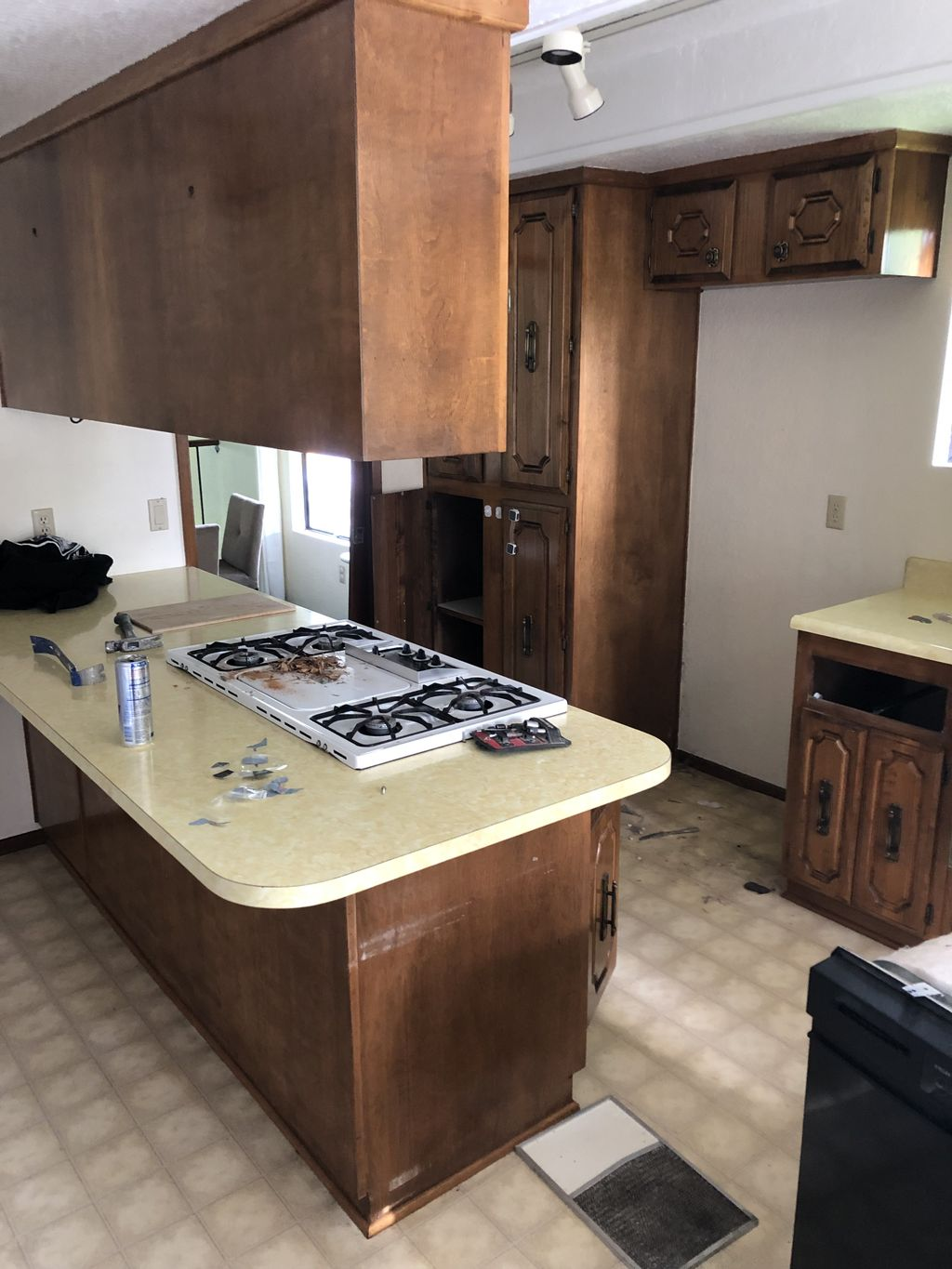 Kitchen remodel and flooring throughout