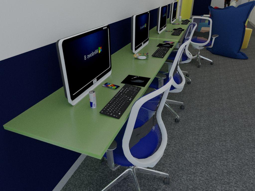 Marketing Hallway Lounge