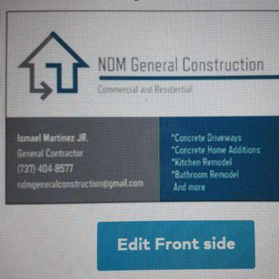 Avatar for NDM GENERAL CONSTRUCTION Buda, TX Thumbtack