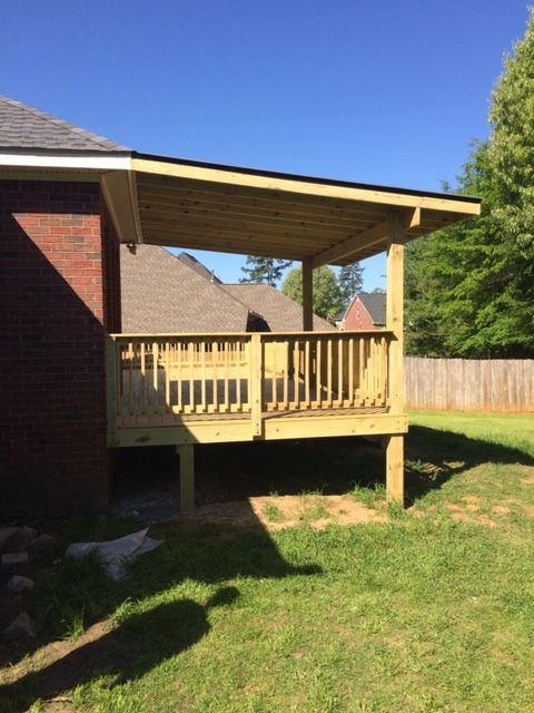 Deck and Patio roof