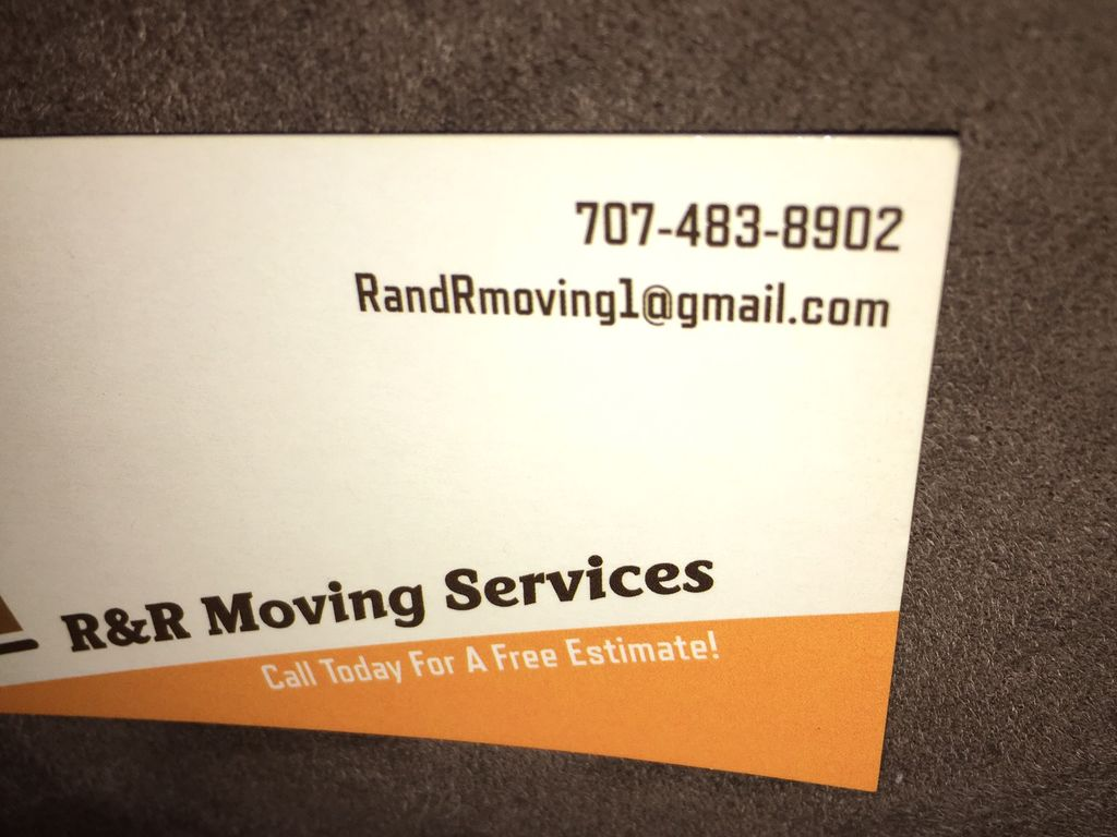 R&R Moving Services