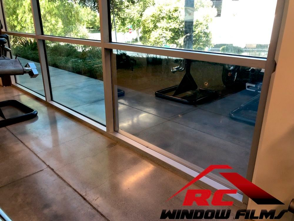 BBK Performance Silver Commercial window tint to reduce heat
