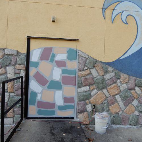 Mural repaint