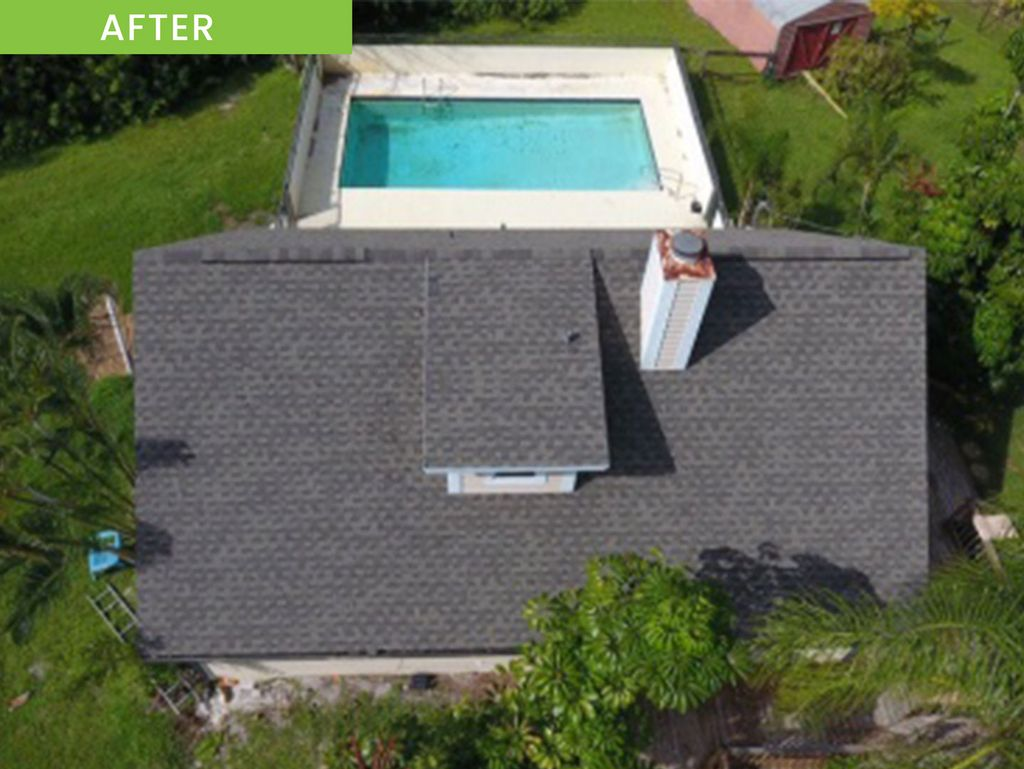 Roof Replacement with HD Shingles